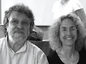 Jean Marie Robine sitting with Ruella Frank