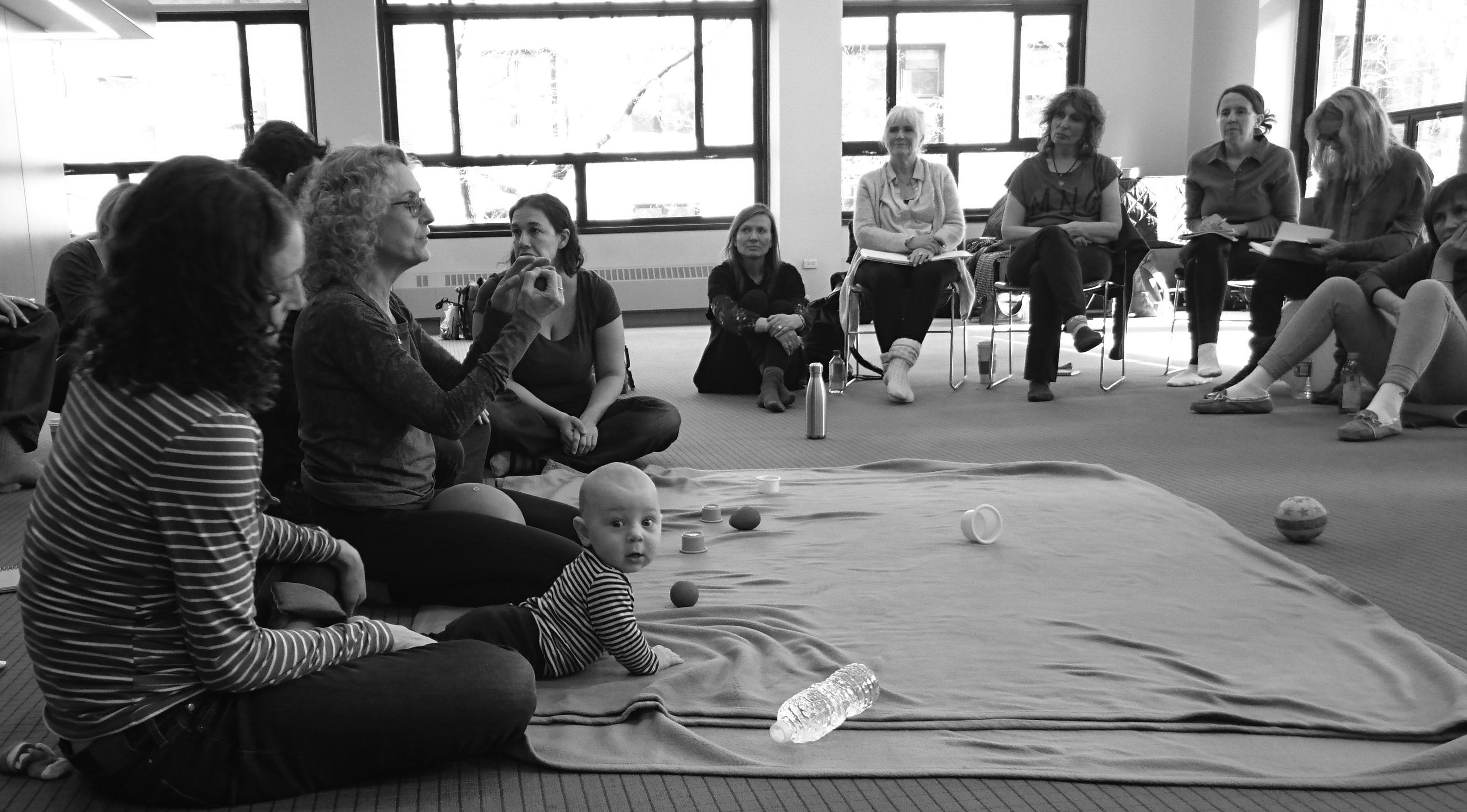 Early Childhood Session as Part of a Two-Year Training Program